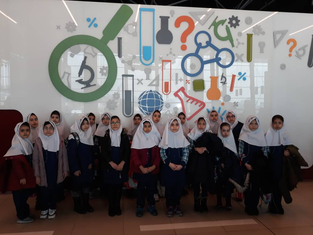 اردوی باغ علمی کودک پایه سوم